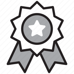 award, badge, prize, reward, seal, winner icon
