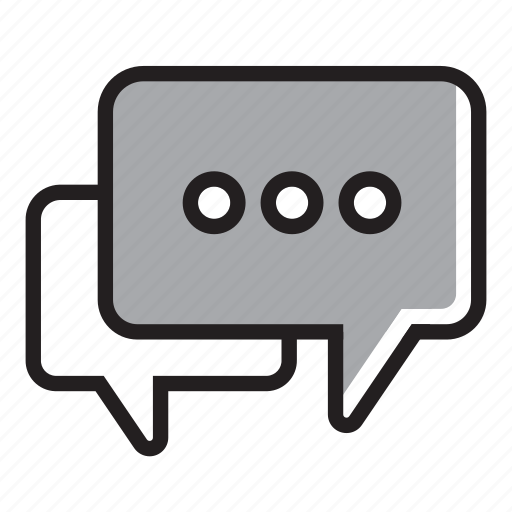 chat, comment, communication, feedback, interview icon