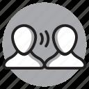 communication, conversation, chat, interview, talk, speak
