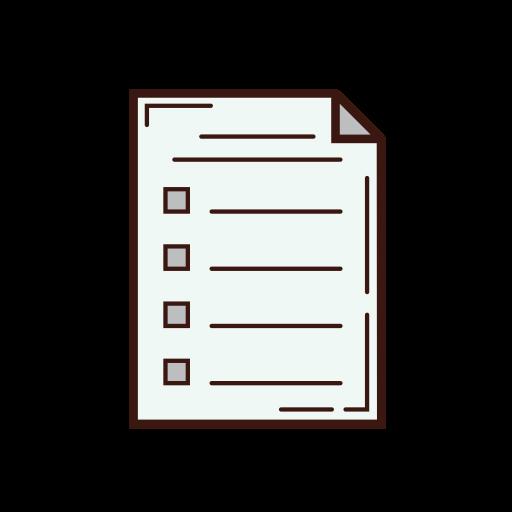 business, data, graphic, letter, list, option, set icon