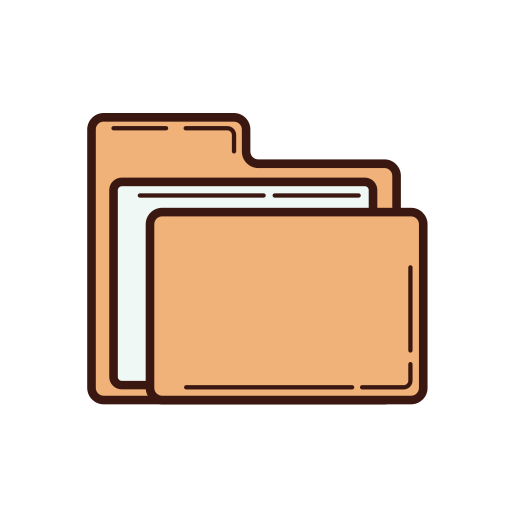 business, file, folder, graphic, line, set, strategy icon