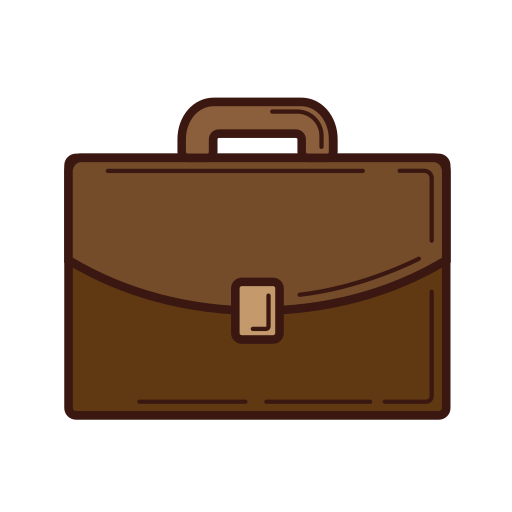 bag, business, file, graphic, line, set, strategy icon