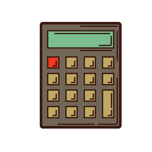 analysis, business, calculation, calculator, graphic, set, strategy icon