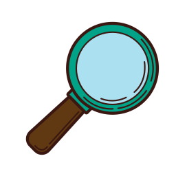 analysis, business, graphic, magnifier, research, set, strategy icon