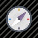 arrow, compass, course, direction, location, navigation, travel