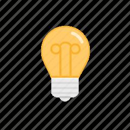 bright, bulb, idea, lamp, light, lightbulb, shine icon