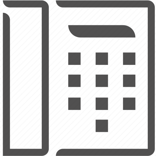 business, office, telephone icon