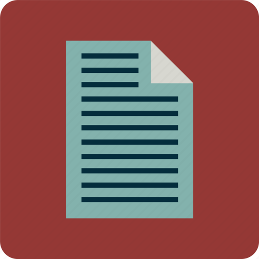 account, document, invoice, letter, note, paper, report icon