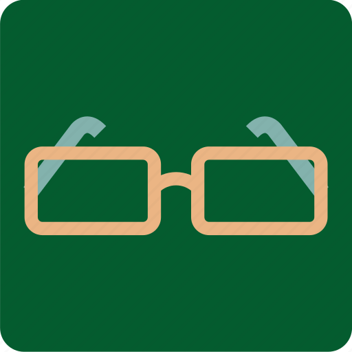 eyes, glasses, look, research, search, view icon