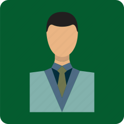 businessman, human, male, man, partner, people icon