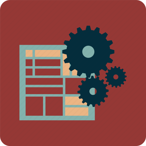 interface, layout, repair, settings, setup, ui icon