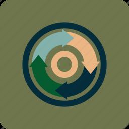 arrow, connection, download, process, progress, upload icon