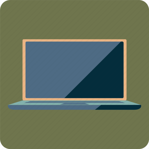 computer, laptop, notebook, program, screen icon