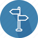 arrows, direction, orientation, subway, underground, way icon