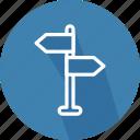 arrows, direction, orientation, subway, underground, way icon