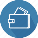 banking, cash, credit, fashion, finance, money, wallet icon