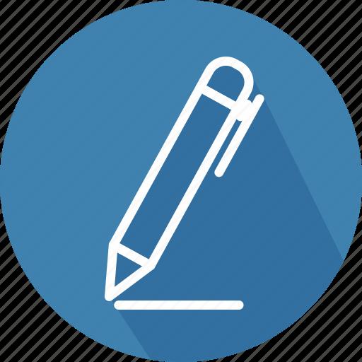 draw, education, material, office, pen, pencil, school icon