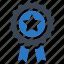 achievement, award, best quality, ribbon icon