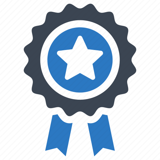 achievement, award, best quality, ribbon icon