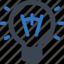 brainstorming, light bulb, business idea