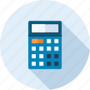 accounting, budget, calculate, calculator, math, mathematics, school icon