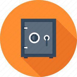 bank, deposit, money, protection, safe, security, vault icon