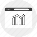 analytics, business, data, money icon