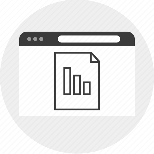 business, chart, document, graph, paper icon