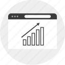business, good, results, up icon
