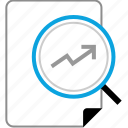 analytics, arrow, high, up icon