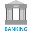 bank, banker, banking, money icon