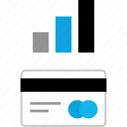 bars, data, graphic, up icon