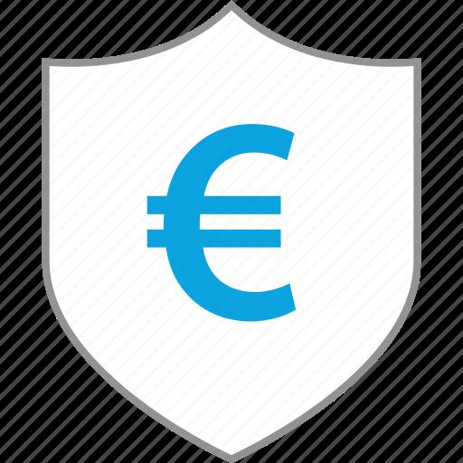 money, shield, uk, wealth icon