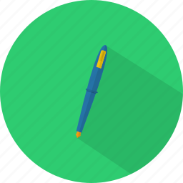 concept, design, media, pen, working, writing icon