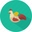 business, chicken, finance, marketing, moneybox, saving money icon