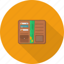credit card, finance, money, shop, wallet icon