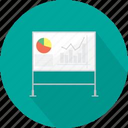 business, concept, idea, marketing, strategy, white board icon