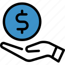 business, finance, money, payment icon