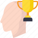 achievement, award, business, human, trophy icon