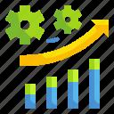 arrow, business, graph, grown, progressive, stat, technology