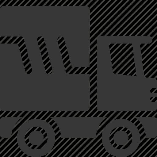 auto insurance, commercial auto, transportation, truck icon
