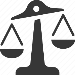 balance, law, risk analysis, scale icon