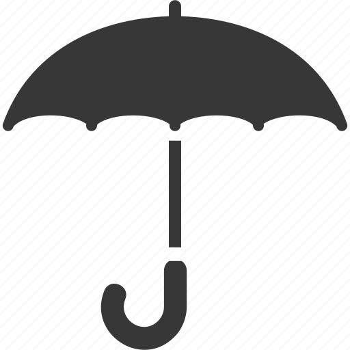 protection, safe, umbrella insurance icon