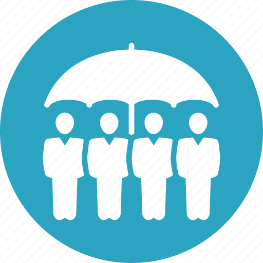 group insurance, life insurance, life protection icon