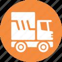 auto insurance, commercial auto, truck, vehicle icon