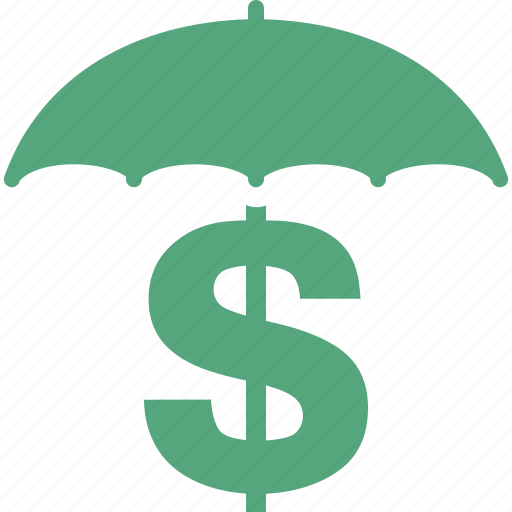 business insurance, money insurance, protection, umbrella icon
