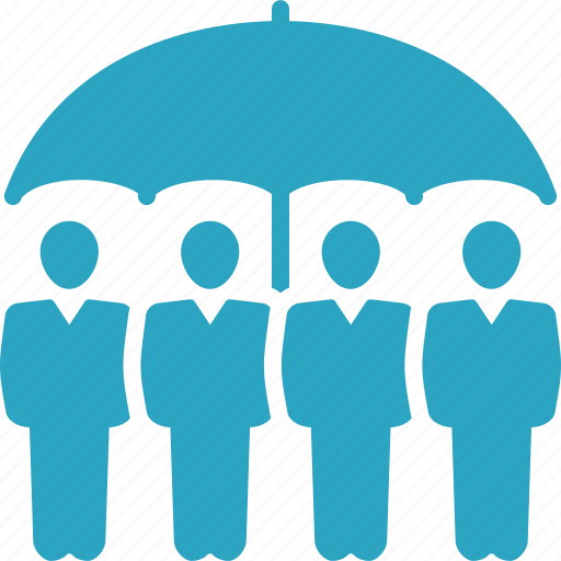 employers insurance, group insurance, life insurance, life protection icon