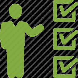 check mark, checklist, insurance audit, tasks done icon