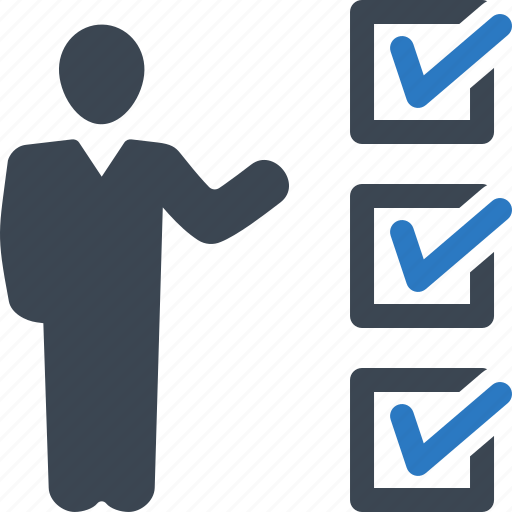 checklist, checkmark, insurance audit, tasks done icon