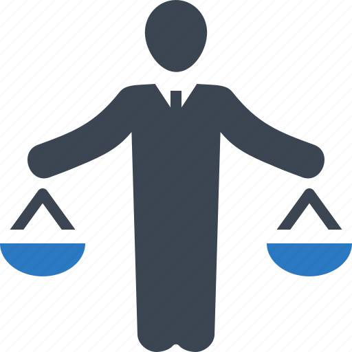 balance, insurance law, legal assistance, scale icon